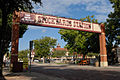 0011Fort Worth Stockyards Station Sign E Texas.jpg