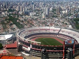 1987 Copa América - Image: 002.Buenos Aires desde el cielo (Estadio de River)