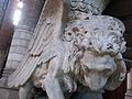 011 Església de l'Hospital de Sant Pau, lleó de Sant Marc.JPG