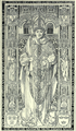 01503 Gravierte Platte vom Grabmal des Kardinals Friedrich in der Kathedrale zu Krakau.png