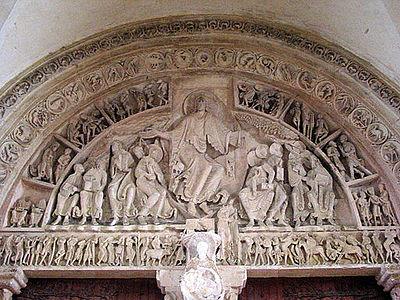 02 Basilique Ste-Marie-Madeleine de Vézelay - Tympan