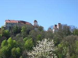 Neuburg am Inn - Castle Neuburg am Inn
