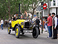 100 Fira Modernista de Terrassa, desfilada de cotxes d'època a la Rambla.JPG