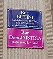 100elles Dora d'Istria - Rue Butini.jpg
