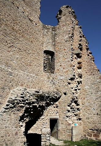 Le Monteil-au-Vicomte - Ruins of the chateau