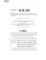 116th United States Congress H. R. 0000107 (1st session) - To amend title XIX of the Social Security Act to sunset the limit on the maximum rebate amount for single source drugs and innovator multiple source drugs.pdf