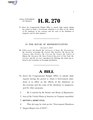116th United States Congress H. R. 0000270 (1st session) - Government Shutdown Impact Report Act of 2019.pdf