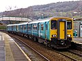150283 and 143 number 616 Aberdare to Barry Island 2Y49 (26321741887).jpg