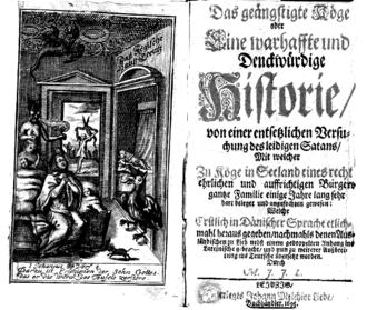 Historie des ausgehenden 17. jahrhunderts: das geängstigte köge oder
