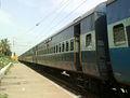 17015 (BBS-SC) Visakha Express at Marripalem 02.jpg