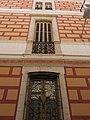 175 Cal Mota, c. Raval 23 (Sant Sadurní d'Anoia), façana del c. Josep Rovira, detall.jpg