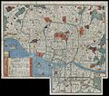 1850 Edo Period Woodcut Map of Edo or Tokyo, Japan - Geographicus - EdoSm-japan-1850.jpg