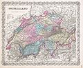 1855 Colton Map of Switzerland - Geographicus - Switzerland-colton-1855.jpg
