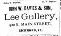 1879 John W Davies and Son photographers Richmond Virginia.png