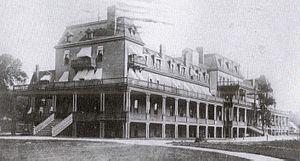 Excelsior Springs, Missouri - The original Elms Hotel