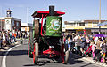 1904 Buffalo-Pitts Steam Traction Engine in the SunRice Festival parade in Pine Ave.jpg