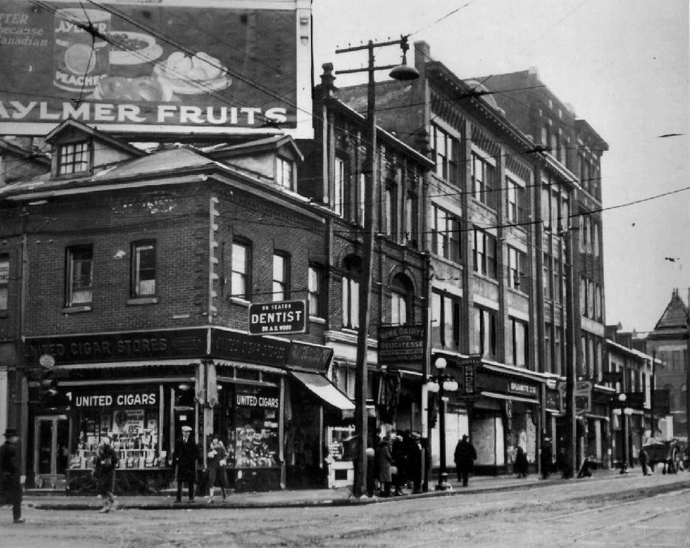 1926 Toronto NW YongeandDundas