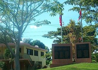 Jayuya Uprising - Image: 1950 Monument Mayaguez