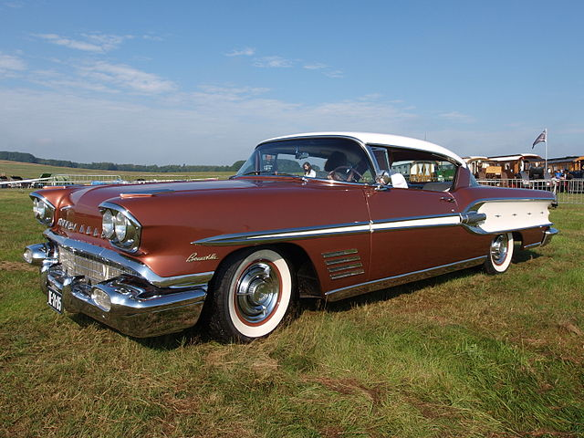 1958 Pontiac Bonneville Catalina Coupe