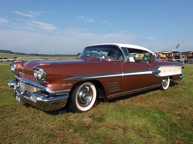 Image of 1958 Pontiac Bonneville Catalina Coupe