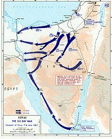 Frontière égypto-israélienne 220px-1967_Six_Day_War_-_conquest_of_Sinai_7-8_June