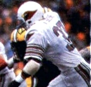 Ken Greene - Greene playing for the Cardinals during the 1982 season