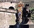 19870827060NR Königstein Festung Königstein Medusentor Wappen.jpg