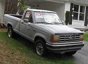 Ford Ranger - Image: 1990 Ford Ranger XLT