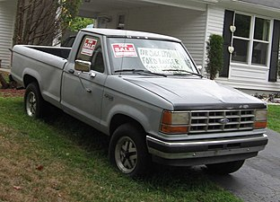 Ford Ranger Model Years >> Ford Ranger Wikipedia