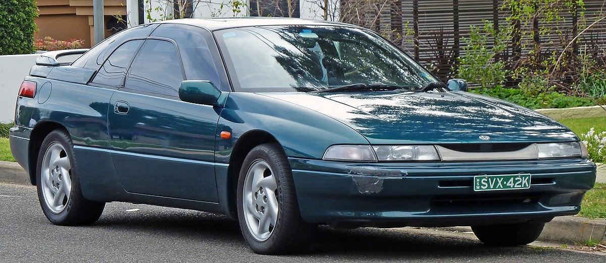Subaru SVX – Wikipedia