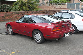 Nissan 180SX - 1994 Nissan 200SX (S13; UK)