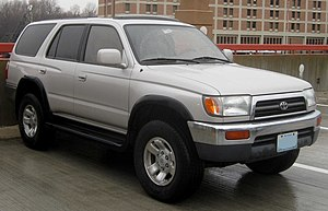 1996-1998 Toyota 4Runner photographed in Olney...