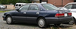 1997-1999 Toyota Crown Royal Saloon rear.jpg