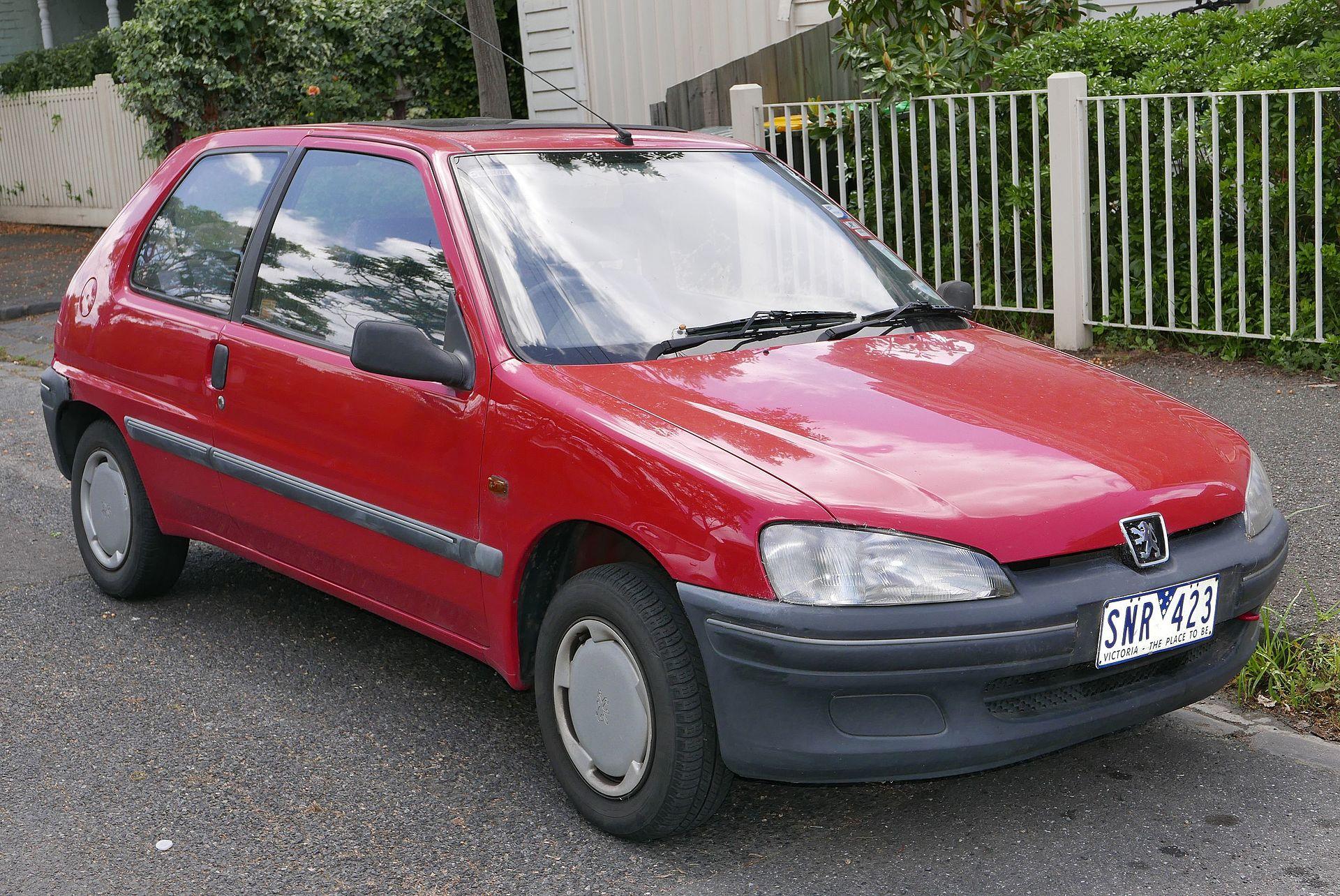 Peugeot 106 wikipedia for 106 door