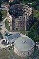 19th century gas storage building in Dresden, Germany.jpg
