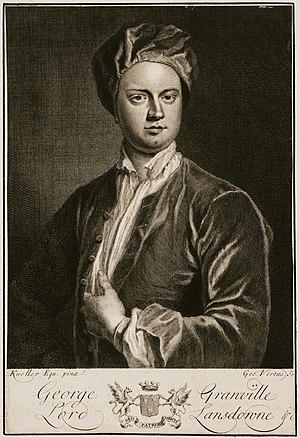 George Granville, 1st Baron Lansdowne - Image: 1st Lord Lansdowne