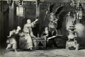 20-century-impressions-of-Hongkong-(1908)-Ceremonies-13-Devotee-consulting-sticks-of-fate.png