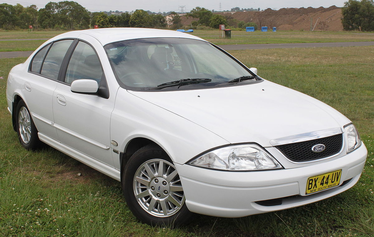 Ford Falcon Au Wikipedia Ef Wiring Diagram