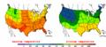 2002-09-18 Color Max-min Temperature Map NOAA.png