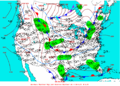 2003-02-09 Surface Weather Map NOAA.png