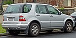 2003 Mercedes-Benz ML 500 (W 163 MY02) Luxury wagon (2010-07-11).jpg