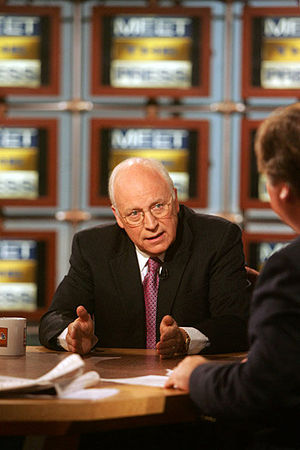 Interview of the Vice President by Tim Russert...
