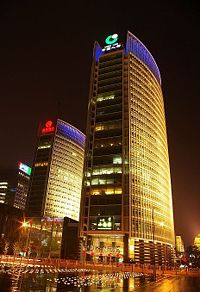 Beijing Financial Street - Bank of Beijing and China Life Headquarters CC