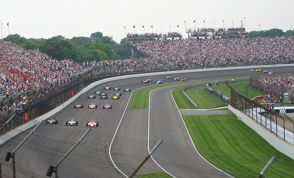 2007 Indianapolis 500 - Starting field formation before start