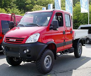 SCAM Srl is a manufacturer and modifier of 4x4 light trucks.