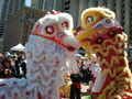 2008 Olympic Torch Relay in SF - Lion dance 25.JPG