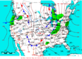 2009-05-14 Surface Weather Map NOAA.png