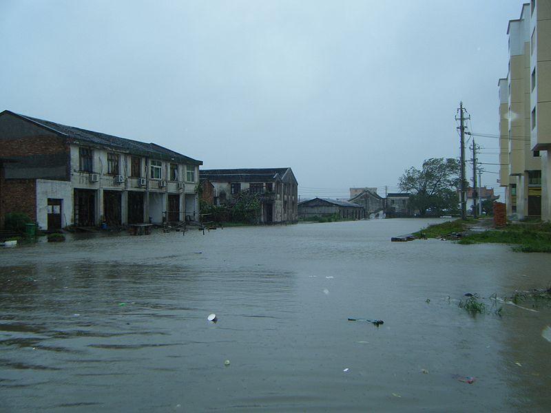 File:20090809台风莫拉克-龙港河道都满水 - panoramio.jpg