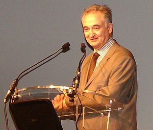 Jacques Attali, speaking at Open Innovation Forum