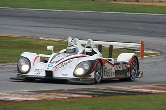 Muscle Milk Pickett Racing - Muscle Milk Team Cytosport Porsche RS Spyder at the 2009 Petit Le Mans.